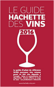 Couverture Guide Hachette 2016